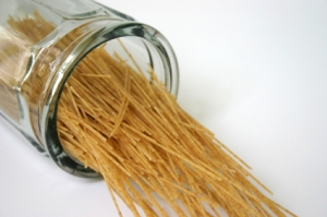 Eating three or more servings of whole grains (such as whole-wheat pasta) each day can help reduce your risk of heart disease, stroke and type 2 diabetes. Whole grains are diet-friendly too: One study found that women who ate more whole grains weighed less and had smaller waists than women who rarely ate them.